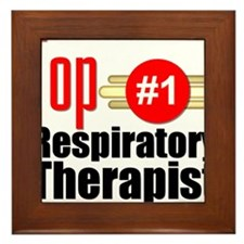 Top Respiratory Therapist Framed Tile