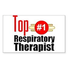 Top Respiratory Therapist Decal