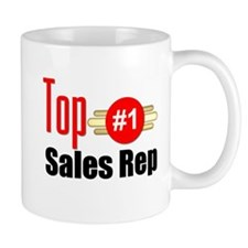 Top Sales Rep Small Mug