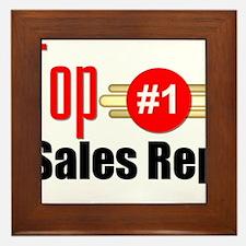Top Sales Rep Framed Tile