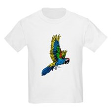 Flying Macaw Parrot T-Shirt