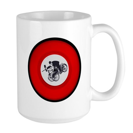 Pedalling Machine Gunner Left-Handed Cup