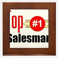 Top Salesman Framed Tile
