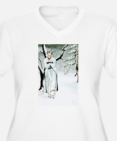 Winter Forest (Old Paper Ver.) for journal T-Shirt