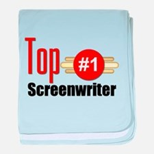 Top Screenwriter baby blanket
