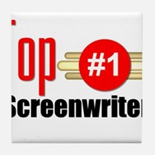 Top Screenwriter Tile Coaster