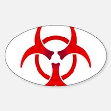 Biohazard - RED Decal