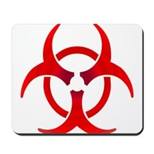 Biohazard - RED Mousepad