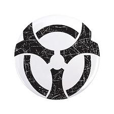 """Biohazard - Texture 3.5"""" Button (100 pack)"""