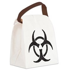 Biohazard - Texture Canvas Lunch Bag
