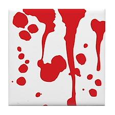 Blood Tile Coaster