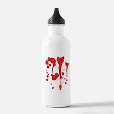 Blood Water Bottle