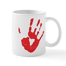 Bloody Hand Print Mug