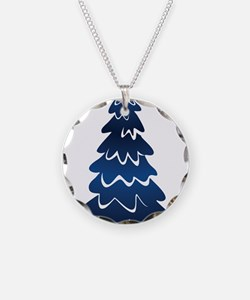 Christmas Tree Necklace