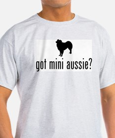 Miniature Australian Shepherd Ash Grey T-Shirt