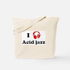 Acid jazz music Tote Bag