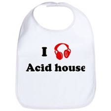 Acid house music Bib