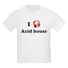 Acid house music Kids T-Shirt