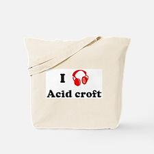 Acid croft music Tote Bag