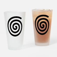 Spiral Drinking Glass