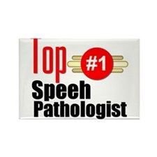 Top Speech Pathologist Rectangle Magnet