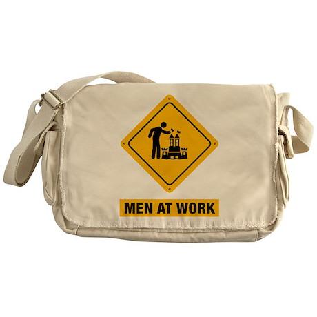 Sand Castle Messenger Bag