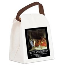 Truth and Beauty Canvas Lunch Bag