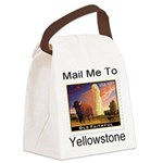 mailmeto_yellowstone.png Canvas Lunch Bag