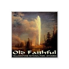 "old_faithful1024x1024.png Square Sticker 3"" x 3"""