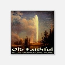 """old_faithful1024x1024.png Square Sticker 3"""" x 3"""""""