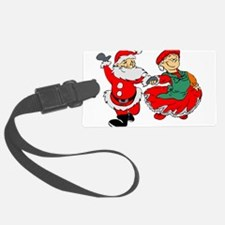 Santa and his wife Luggage Tag