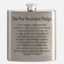 The Paw Revolution Pledge Flask