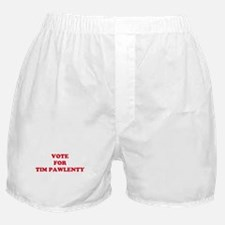 VOTE FOR TIM PAWLENTY  Boxer Shorts