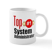 Top Systems Administrator Small Mug