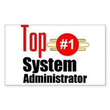 Top Systems Administrator Decal