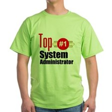 Top Systems Administrator T-Shirt