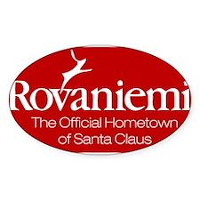 Rovaniemi, home of Santa Decal