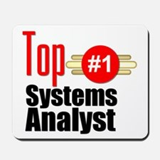 Top Systems Analyst Mousepad