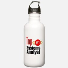 Top Systems Analyst Water Bottle