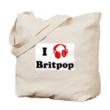 Britpop music Tote Bag
