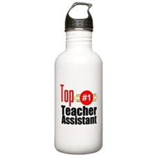 Top Teacher Assistant Water Bottle