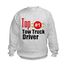 Top Tow Truck Driver Sweatshirt