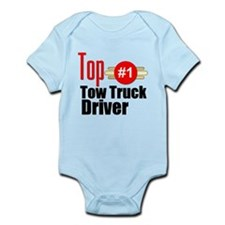 Top Tow Truck Driver Infant Bodysuit