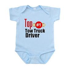 Top Tow Truck Driver Infant Bodysuit