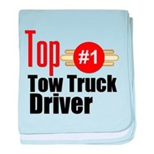 Top Tow Truck Driver baby blanket