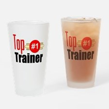 Top Trainer Drinking Glass