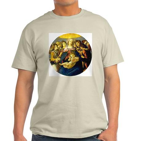 Madonna of the Pomegranate Ash Grey T-Shirt