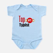 Top Typist Infant Bodysuit