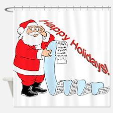 Happy Holidays! v3 Shower Curtain