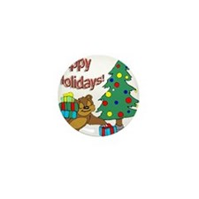 Happy Holidays! Mini Button